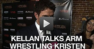 Video of Kellan Lutz Talking About Kristen Stewart and Breaking Dawn 2010-12-01 11:15:00