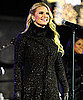 Slide Picture of Jessica Simpson Singing at Rockefeller Tree Lighting in NYC
