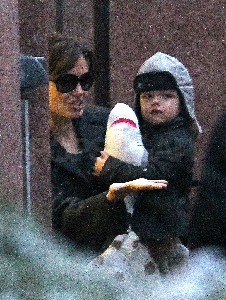 Pictures of Angelina and Knox