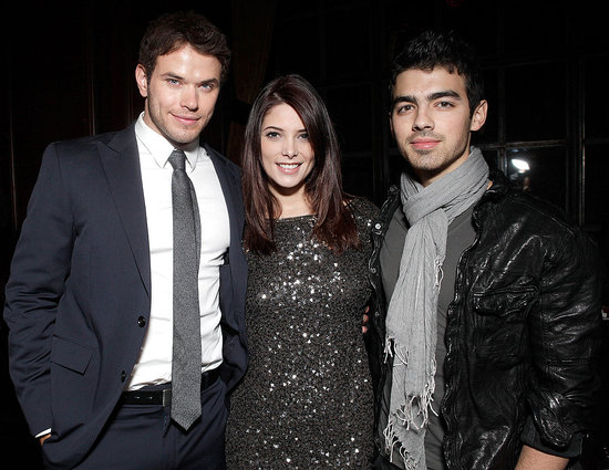 Pictures of Kellan Lutz, Ashley Greene and Joe Jonas