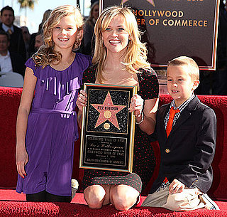 Pictures of Reese Witherspoon Getting Her Star on the Walk of Fame 2010-12-01 13:30:00