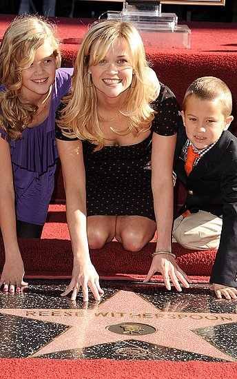 Reese Witherspoon Gets Her Hollywood Star