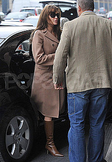 Pictures of Angelina Jolie Out in Paris
