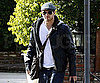Slide Picture of Kellan Lutz Heading to LAX