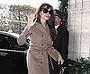 Slide Picture of Angelina Jolie Returning to Her Hotel in Paris