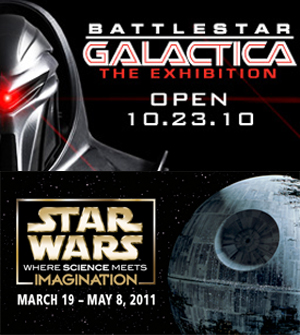 Geeky Museum Exhibits in Seattle Feature BSG and Star Wars
