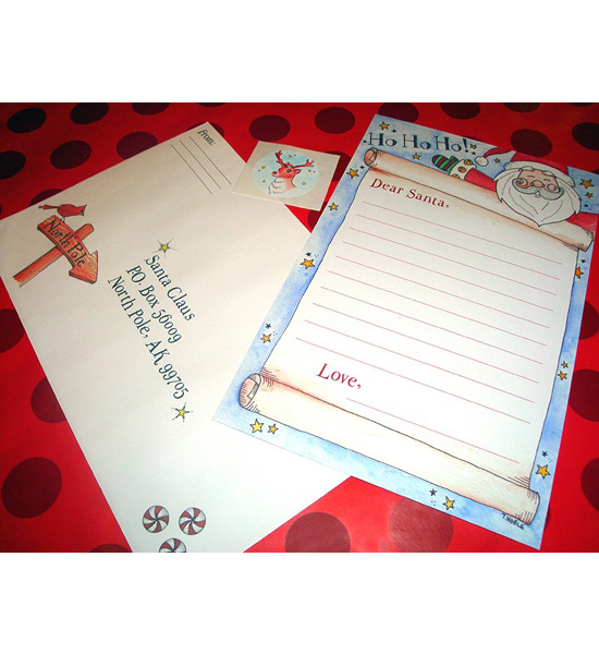 Christmas Letter to Santa Kit