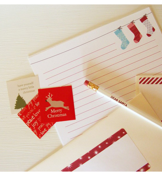 Dear Santa Letter Writing Kit