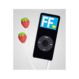 Strawberry iPhone Ear Buds