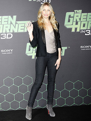 Pictures of Jay Chou, Christoph Waltz, Cameron Diaz, Seth Rogen Promoting Green Hornet in Berlin 2010-12-03 07:45:00
