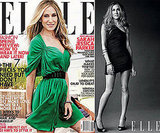 We showed you a sneak peek of SJP in Elle. Hear what she has to say about her role at Halston.