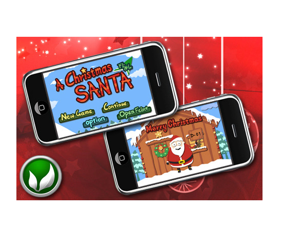 A Christmas Santa iPhone App