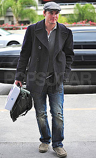 Pictures of Peter Facinelli Leaving LA