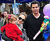 Slide Picture of Jessica Alba With Cash Warren and Honor in Santa Monica