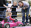 Pictures of Jennifer Garner at the Santa Monica Farmers Market With Violet and Seraphina