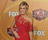 Slide Picture of Carrie Underwood at American Country Awards in Las Vegas