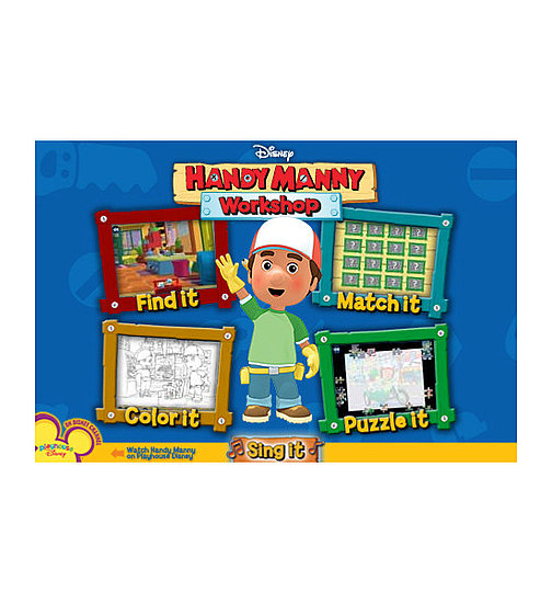 Handy Manny Workshop