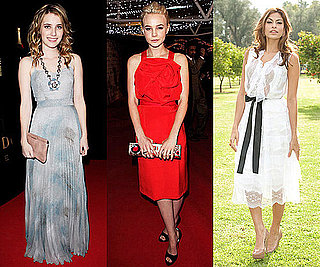 Photos of Katy Perry, Carey Mulligan, Eva Mendes and Emma Roberts