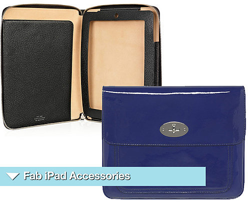 Luxury iPad Accessories and Cases by Mulberry and Smythson