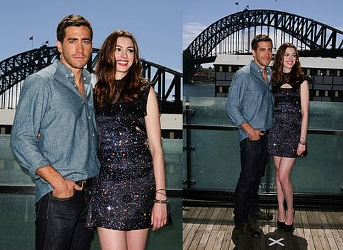 Anne Hathaway and Jake Gyllenhaal arrive in Sydney for the Love & Other Drugs Premiere