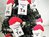 Periodic table ornaments ($14.50)