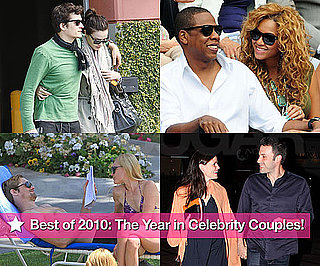 Pictures of Hot Celebrity Couples in 2010