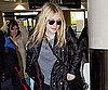 Slide Picture of Dakota Fanning Leaving LAX
