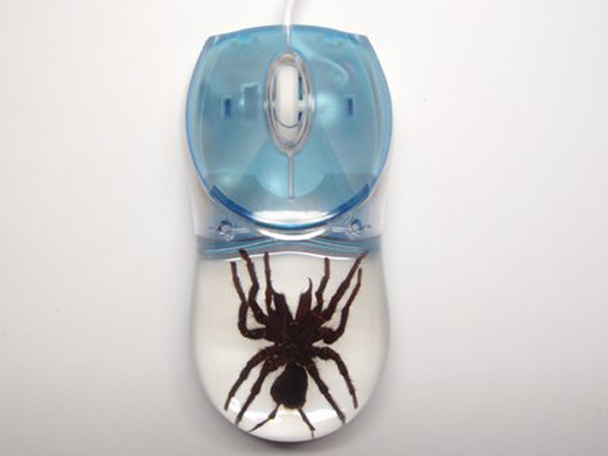 Mouse With Tarantula Inside ($22) - Creepy or Cute?