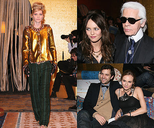 All the Catwalk and Front Row Pictures of Chanel Metiers d'Art Show, Including Karl Lagerfeld, Diane Kruger and Vanessa Paradis