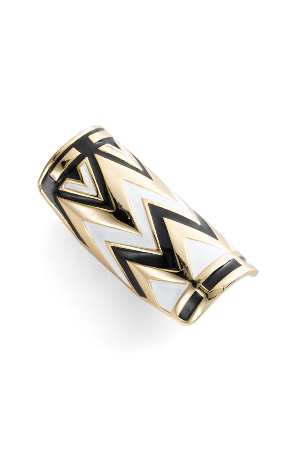 House of Harlow 1960 Knuckle Ring ($65)
