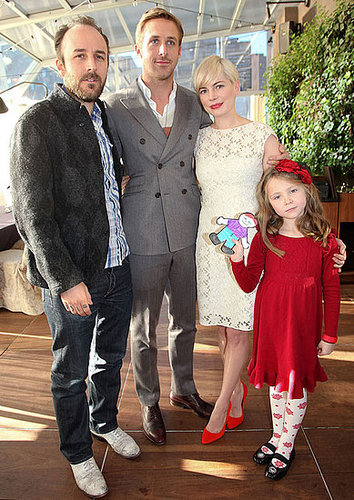 Pictures of Ryan Gosling and Michelle Williams At Blue Valentine Luncheon