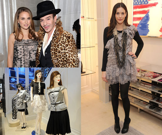 Liv Tyler, Natalie Portman, Leighton Meester, and More Join Galliano to Celebrate Dior's Flagship Store