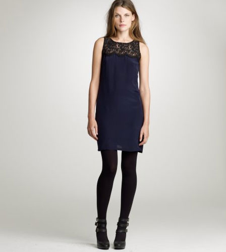 J.Crew Lisette Lace Shift Dress ($198)