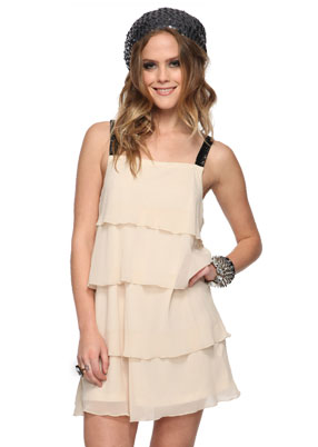 Forever 21 Tiered Embellished Dress ($20)