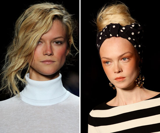 Let the Spring '11 Runway Inspire Your Beach or Pool 'Do