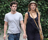 Penn Badgley and Blake Lively