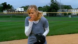 Video of Reese Witherspoon Hit by a Softball