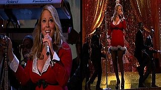 Video of Pregnant Mariah Carey on Her Holiday Special 2010-12-10 12:28:59