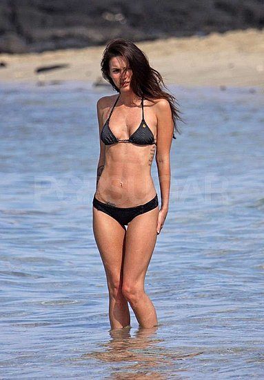 Megan Fox Bikini Pictures Brian Austin Green Hawaii SF Gay Pride Parade