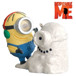 Despicable Snowminion Ornament ($15)