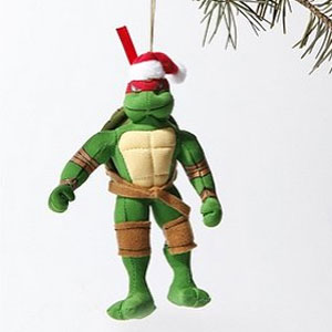 Teenage Mutant Ninja Turtles Plush Ornament ($12)