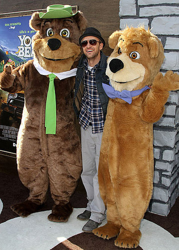 Pictures of Justin Timberlake at the LA Premiere of Yogi Bear 2010-12-13 13:45:00