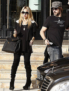 Pictures of Rachel Zoe Pregnant Shopping With Rodger