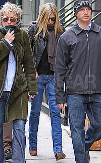 Pictures of Jennifer Aniston Walking in NYC