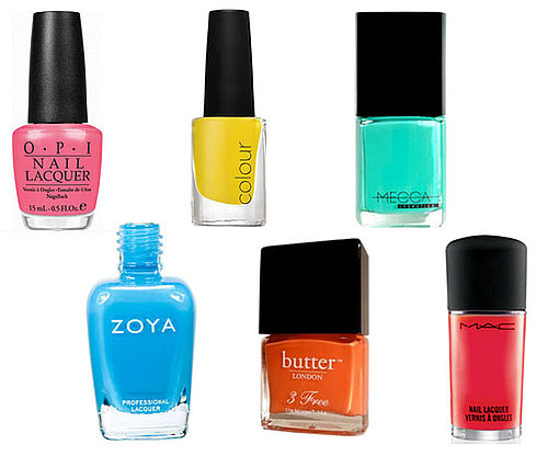 10 of the Best Bright Nail Polish Shades and Colours for Summer