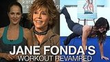 Jane Fonda Workout Video Launch and Easy Fitness Moves