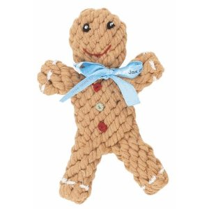 Good Karma Rope Toy - Gingerbread Man ($10)