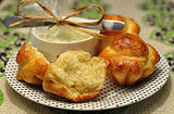 12 Days of Edible Gifts: Brioche Bread and Herbed Butter