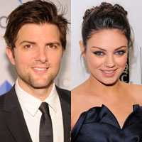 Mila Kunis and Adam Scott to Star in Ted With Mark Wahlberg