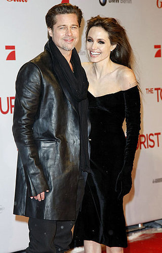 Angelina Jolie and Brad Pitt at Berlin Tourist Premiere